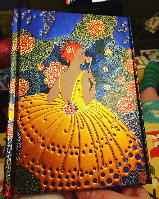 My Erte notebook is pretty pretty. 🌟