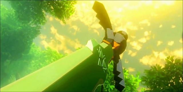 Legenda o Zelda disanju divlje majstorske mačevske potrage