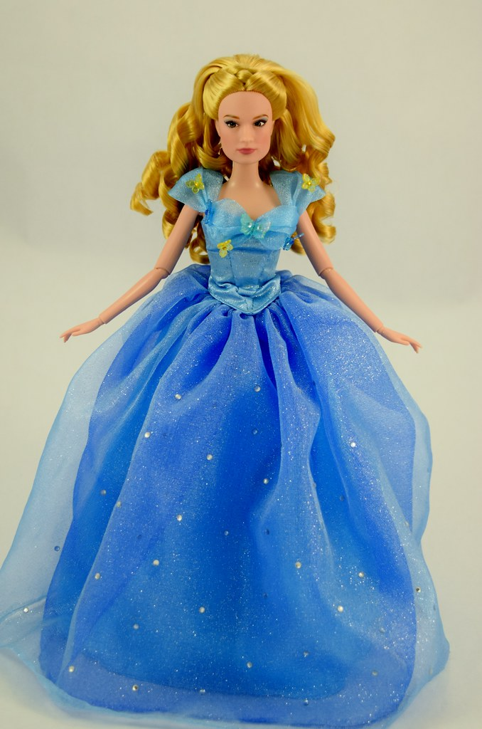 Disney Film Collection Cinderella Doll in Mattel Ball Gown… | Flickr
