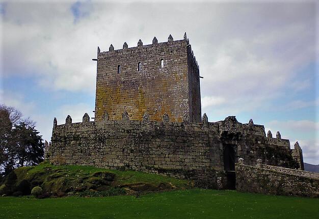 Castelo de Soutomaior en Pontevedra (Galicia)