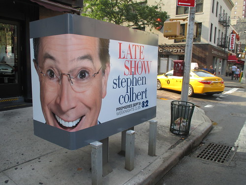 Stephen Colbert Late Show Telephone Booth AD 0734 | by Brechtbug