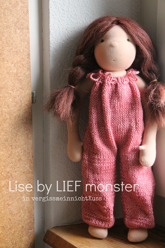 Dungarees - antique pink