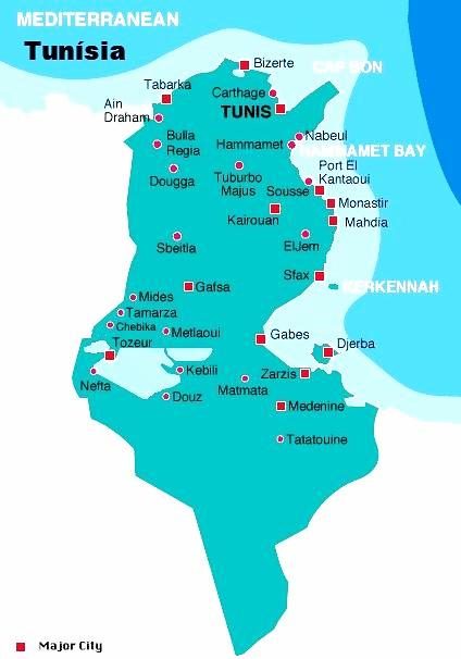 Tunísia. A Revolução de Jasmim - Aula do Peppe