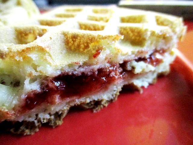 Strawberry waffle 2