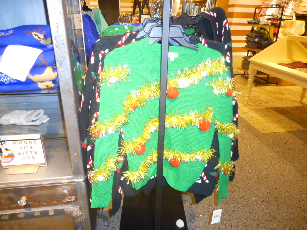 ugly tacky christmas sweater at nordstrom downtown seattle by patricksmercy - Nordstrom Christmas Sweaters