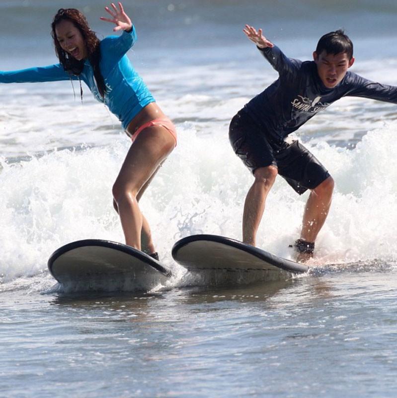 Santai Surf School Lessons