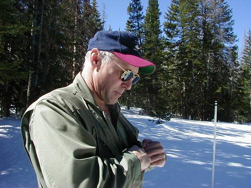 Hydrologist Randy Julander