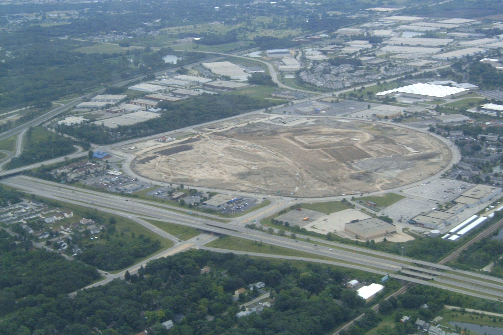 Lakehurst/Fountain Square site: August 2004