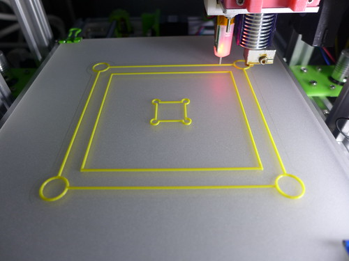 3DP auto bed using BLTouch