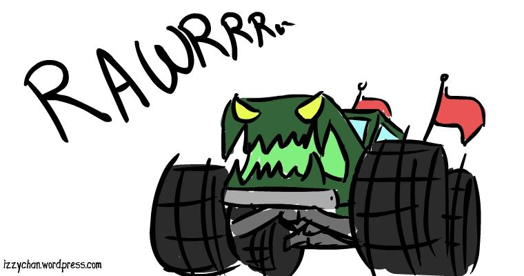 literally a monster truck