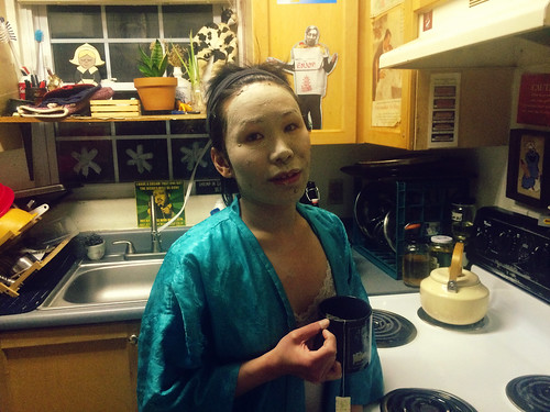 Ana in Face Mask (March 1 2016)