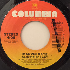 MARVIN GAYE:SANCTIFIED LADY(LABEL SIDE-A)