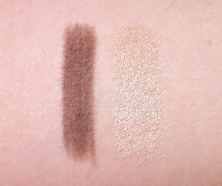 full brow brow powder highlighter swatch