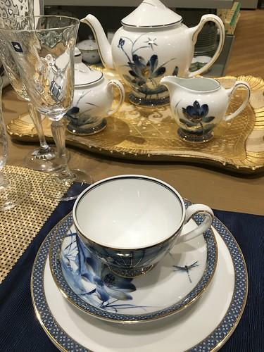Blue and white china,  Lenox