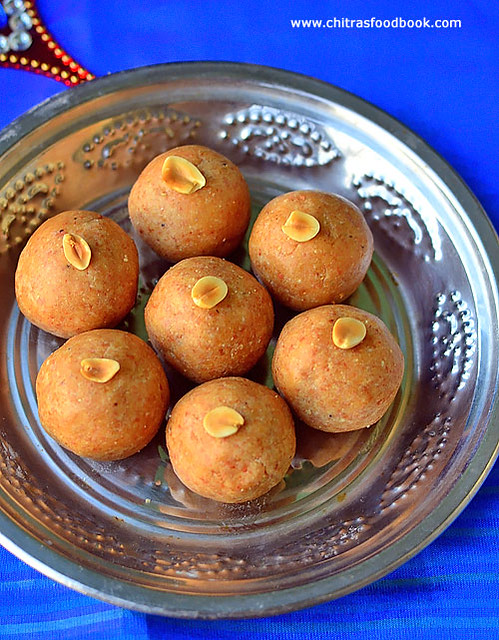 Groundnut laddu recipe