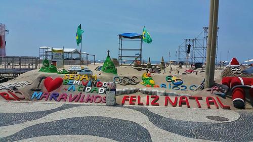 Playa Copacabana Arte Arena