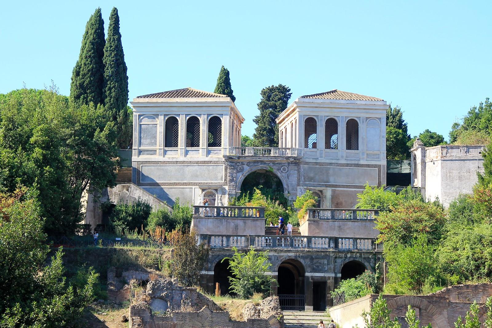 Rome colosseum Paletine Hill travel blogger UK