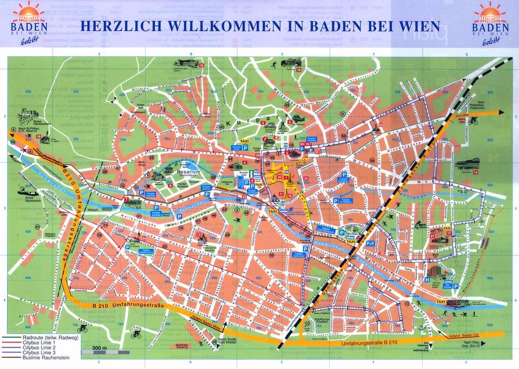 Stadtplan Baden Bei Wien Best Viw Original 2317 X 1648