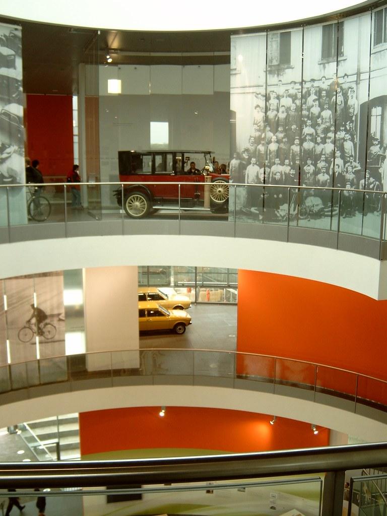 the audi museum at ingolstadt inside the building david van mill flickr. Black Bedroom Furniture Sets. Home Design Ideas