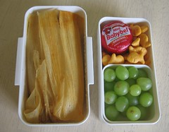 Tamale lunch for toddler | by Biggie*