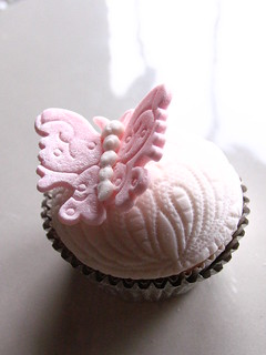 wedding cupcake-butterfly | by kylie lambert (Le Cupcake)