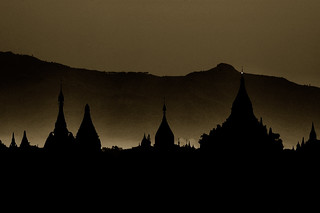 Bagan Silhouette | by tarotastic