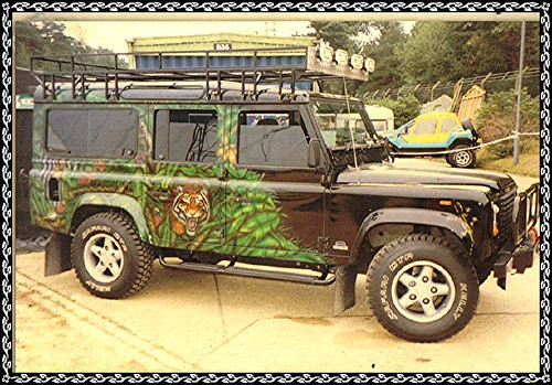 Kelly tyres land rover | by DEFENDER01 {Going back to the Forest.}