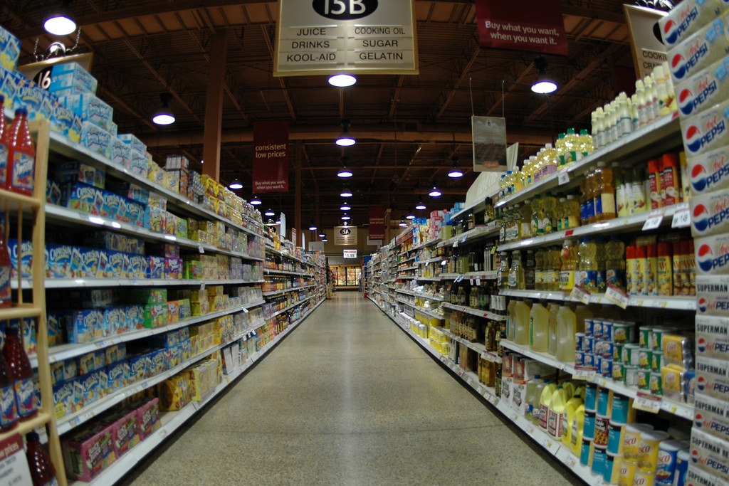 Endless aisle | Sharkey M. | Flickr