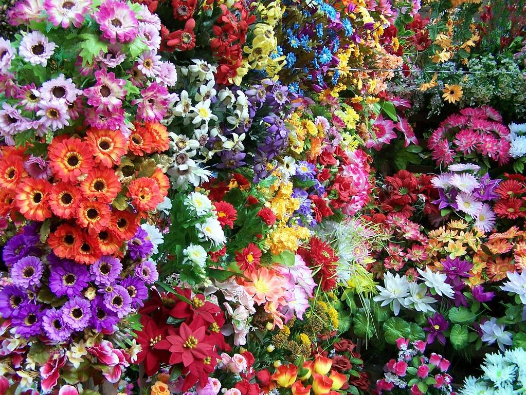 030 Fake Plastic Flowers Crawford Market Mumbai India Flickr