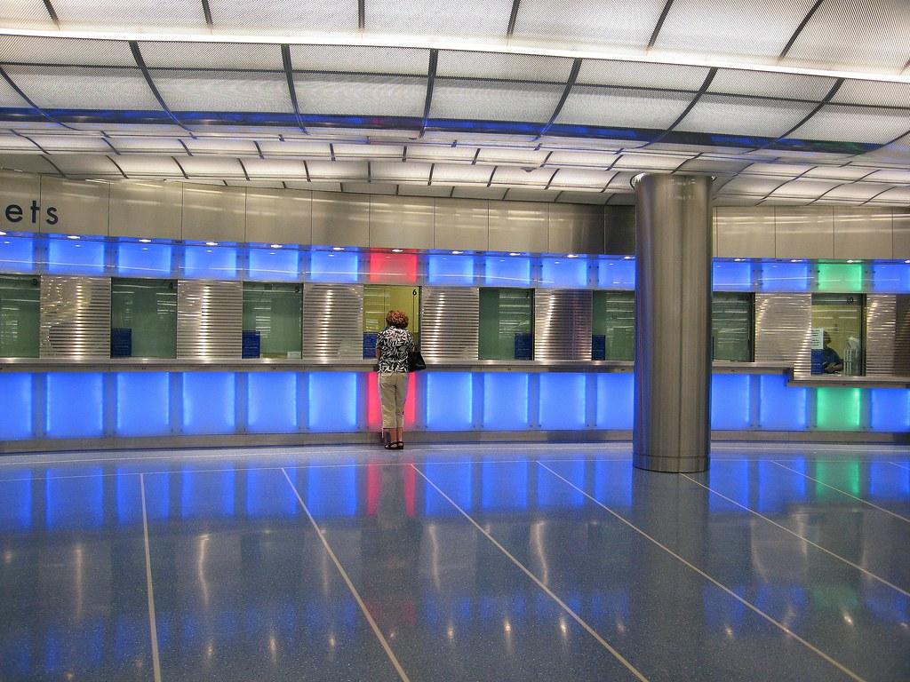 Metra S Millennium Station At Randolph David Arpi Flickr