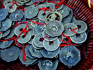 lucky chinese coins | by Vanessa Pike-Russell