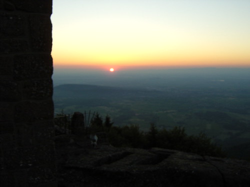 Mont Sainte-Odile, Early Sun | by wormbach00x