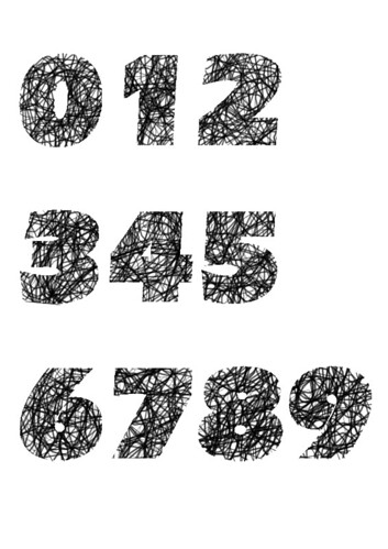 typography number design deepbluezero flickr