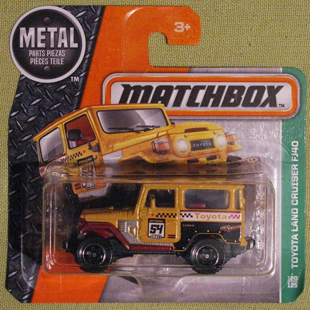 TOYOTA Land Cruiser FJ40 | Matchbox Made in Thailand for Mat… | Flickr