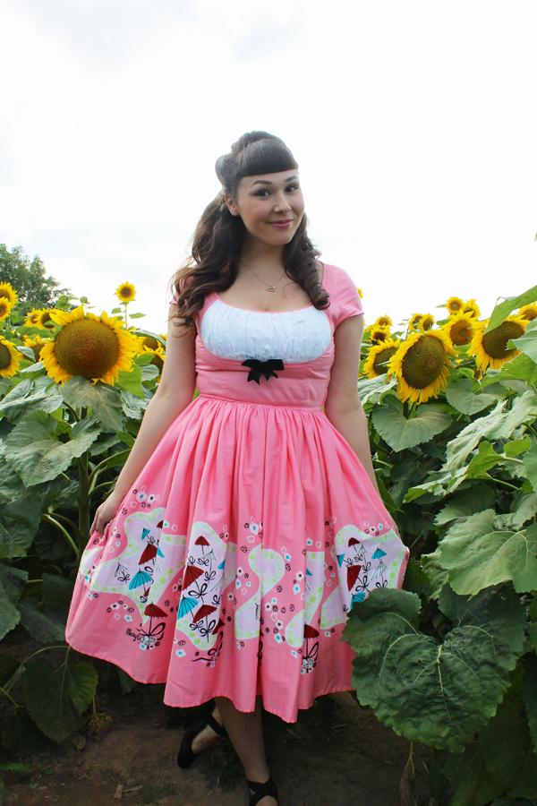 pinup girl clothing mary blair umbrella dress