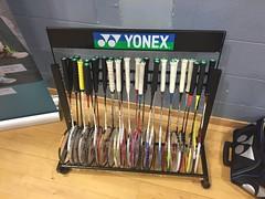 Yonex Racket Rack