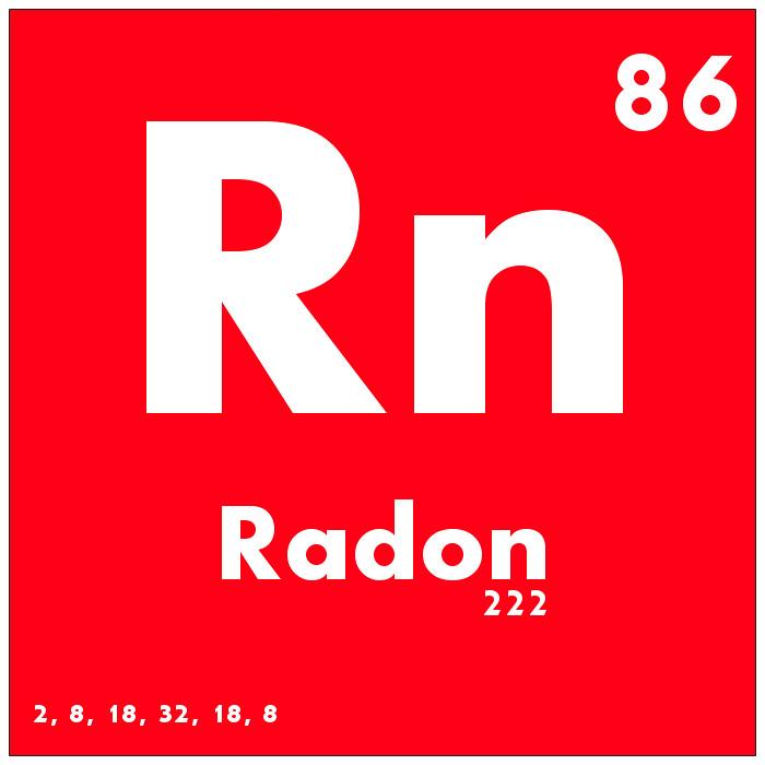Resultat d'imatges de radon
