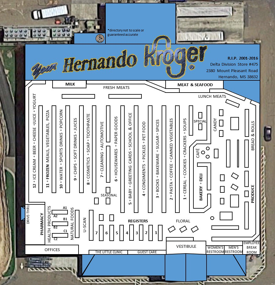 Hernando Millennium Kroger Visual Overhead Directory | Flickr