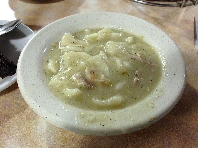 Chicken & Dumplins, Arnold's Country Kitchen, Nashville TN