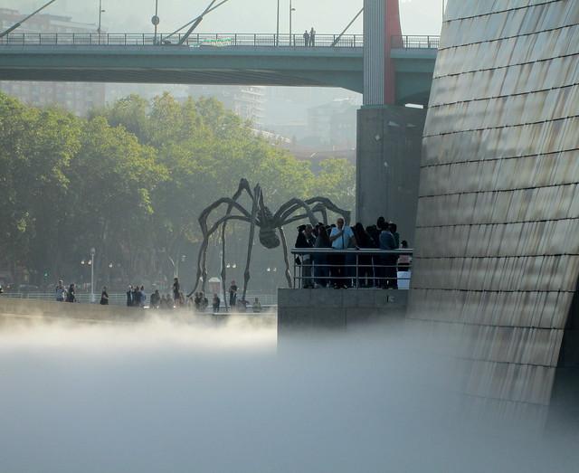 Guggenheim Museum, Bilbao FOG + Spider Sculpture