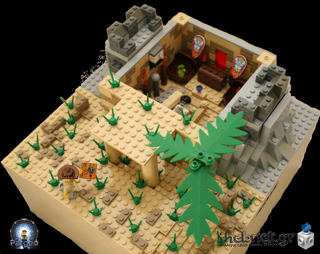 [MOC]: The Lost Tomb 32794197772_94d8997985_b