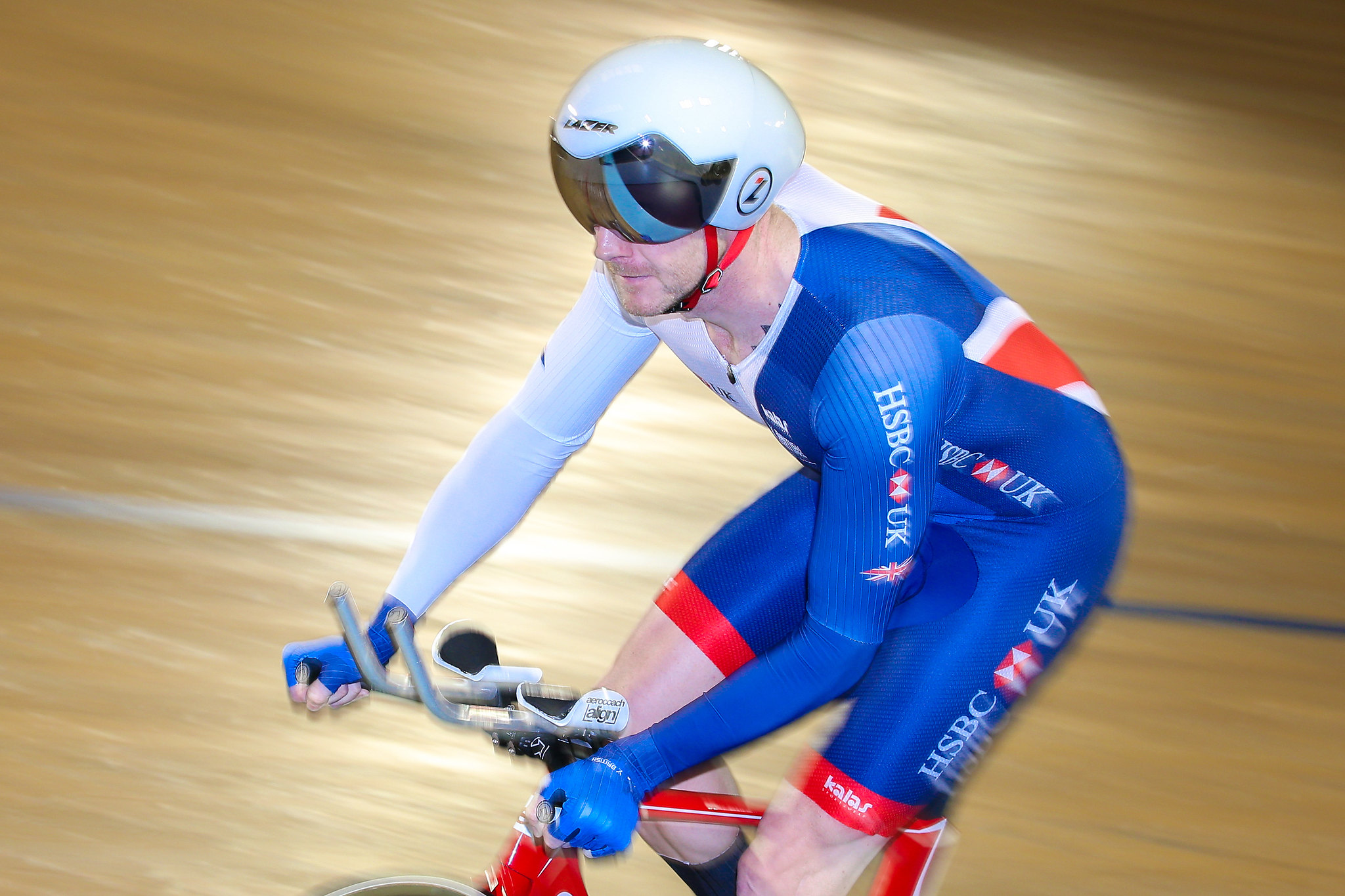 Great Britain Cycling Team at the 2017 UCI Para-cycling Track World Championships - day three