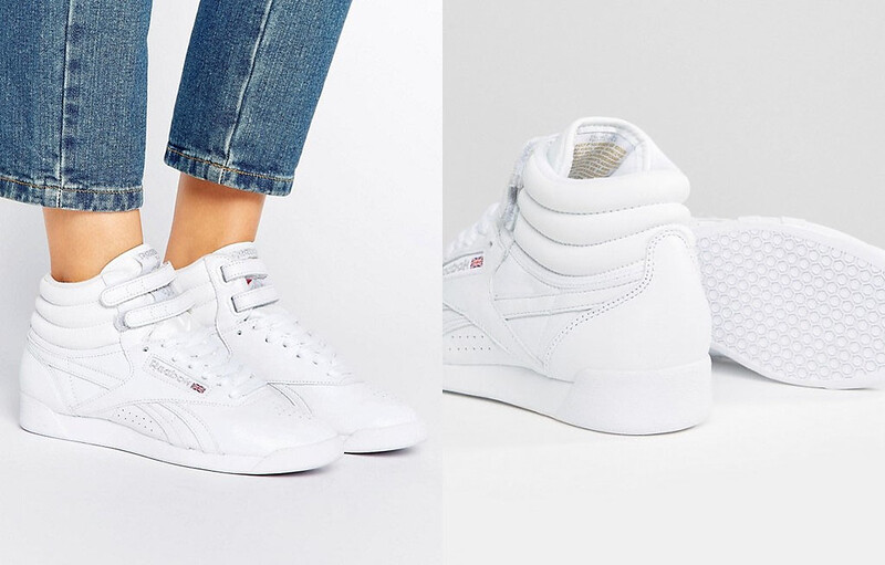 fdccd5e78d1 Capsule Wardrobe Pieces - 16 Classic White Sneakers to Shop Reebok X Local  Heroes Lux Freestyle ...