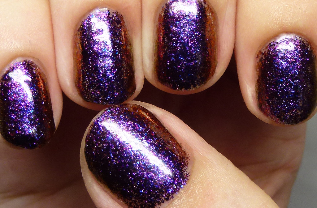 Pretty Jelly Nail Polish Dream State | Purple-to-bronze mult… | Flickr