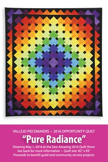2016 Opportunity Quilt Postcard (Front) | by vallejopiecemakers