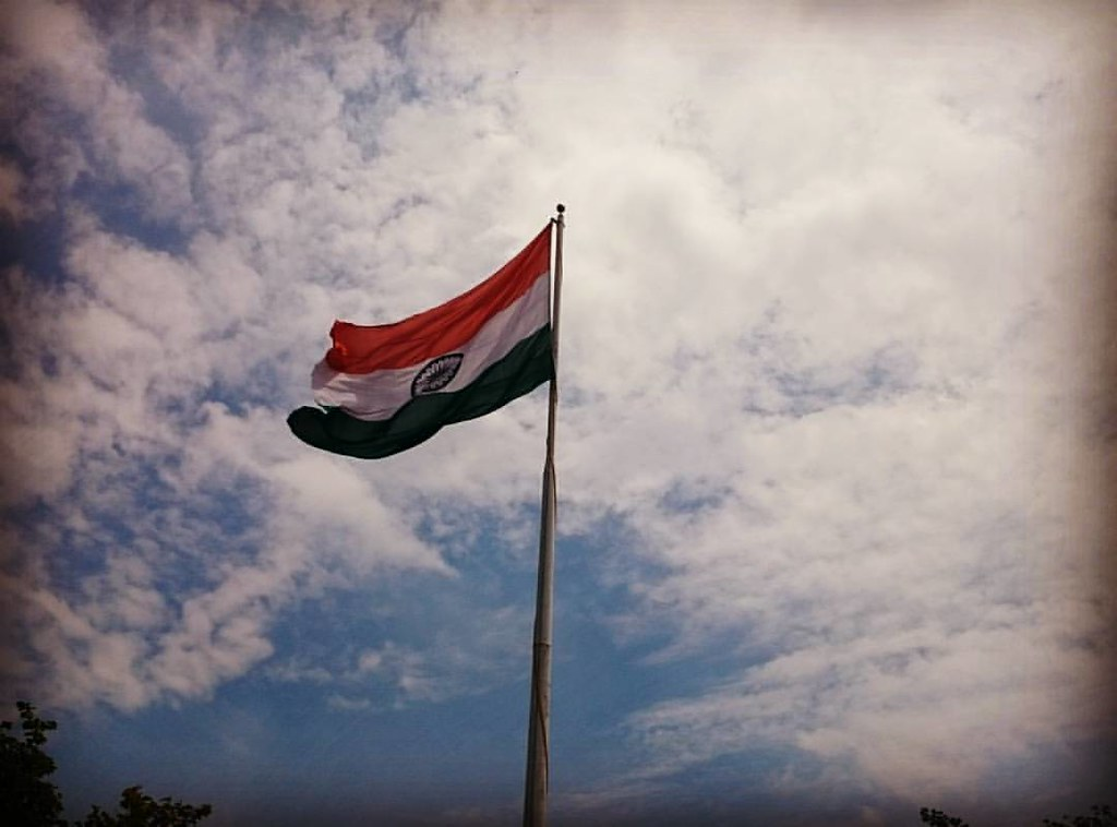 Indian Flag With Different Views: The Indian Flag...