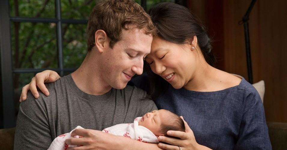 脸书创办人祖克伯高调向世界分享初为人父的喜悦,但慷慨捐出的股份究竟是行善?或是避税?仍不无争议。(图片来源:Mark Zuckerberg/Facebook)