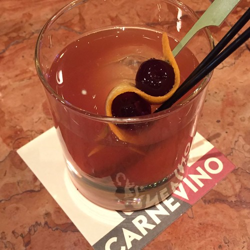 Old Fashioned at CarneVino