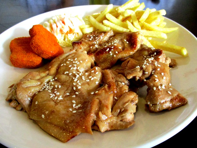PAUSE grilled honey chicken chop