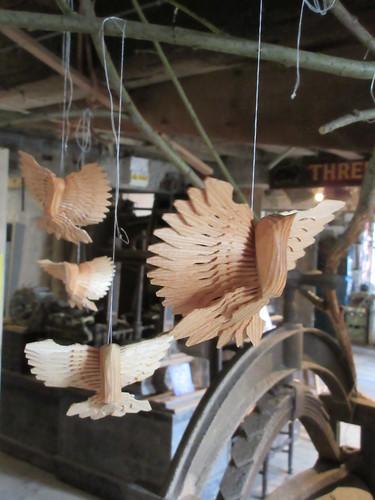 Fan bird carving 2017